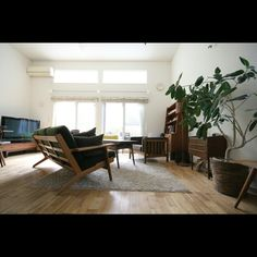Hisashiさんの、デザイナーズ,グリーンのある暮らし,北欧インテリア,北欧,部屋全体,のお部屋写真