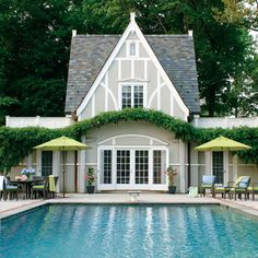 this pool house                                                                                                                                                                                 More