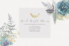 Good Night Moon - Graphic Collection by studioequinox on @creativemarket