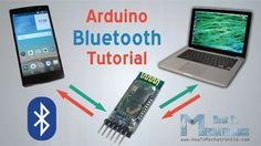 Arduino and HC-05 Bluetooth Module Tutorial - HowToMechatronics