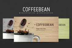 This COFFEEBEAN presentation template is designed for those who are looking for templates that fulfills their specific industrial needs.
