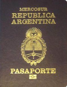 Passport cover of Argentina + ARLOOPA app = MAGIC
