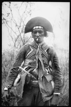 Lampião, 1936 | Famous bandit leader of  Cangaço, a form of banditry endemic to the Brazilian Northeast in the 1920s and 1930s.