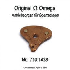 OMEGA 710-1438, Antriebsorgan für Sperradlager, Omega 710 1438 Cal. Omega Watch, Aftermarket Parts