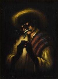 Le fumeur dans la nuit, Manuel Acosta