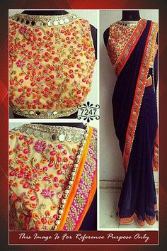 Bollywood Inspired Navy Blue Colour Georgette Party Wear Saree Buy Apparel