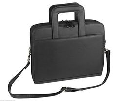 ImpecGear Briefcase Padfolio 3- Ring Binder, File Divider Organizer W/ Smart Handle Briefcase (Black). INTENDED USE: Organizer with Briefcase Handles, Gift Item, Corporate Gift, Job Interview, Work Briefcase, College Portfolio. This Smart handles briefcase makes it convenient and professional on a go, hide it when not using it. FEATURES: Zippered main compartment padfolio with organizer, Smart handle, large outer open pocket, 3-ring binder, 1 zippered pocket includes 5 file dividers, 1…