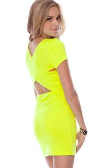Cute yellow dress