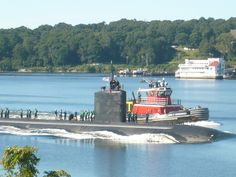 Coming Home to the Naval Submarine Base, Groton, CT