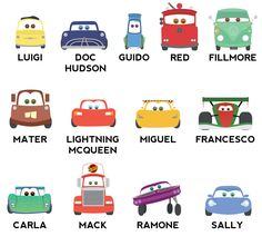 Arte de pared Disney Cars infantiles niños pared por RitzyReba