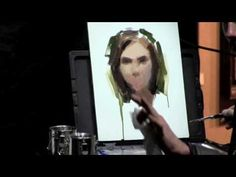 Oil Painting Casey Baugh Scottsdale Art School Demo 2013 - YouTube