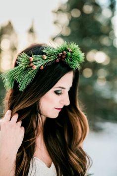 Organic pine Winter