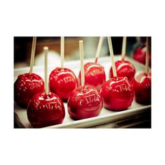 candy apple | Tumblr ❤ liked on Polyvore featuring food, pictures, red, backgrounds, photos and fillers