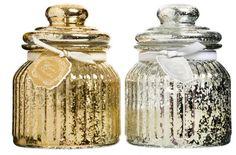 Duftlys i glass - Lys og Lysestaker - Rusta