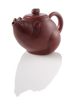 Tiny Mouse Yixing Teapot--I've been wanting this teapot for literally years now. You have to choose just one kind of tea to brew in it because it's made with a special clay that enhances every pot you brew! And it's so cute--how very Alice :D.