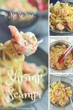 No Wine! Easy Shrimp Scampi Recipe No Wine! Easy Shrimp Scampi Recipe No Wine! Easy Shrimp Scampi Recipe No Wine! Scampi Sauce Recipe Easy, Shrimp Scampi Recipe Easy Without Wine, Shrimp Scampi Linguine, Linguine Recipes, Shrimp Recipes, Wine Recipes, Pasta Recipes, Yummy Recipes, Yummy Food
