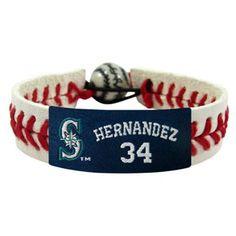 Felix Hernandez/ Seattle Mariners Classic Jersey Bracelet