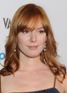 "Alicia Witt arrives at the premiere screening of Showtime's ""Hou$e of Lie$"" at the AT&T Center on January 4, 2012 in Los Angeles, California Alicia Witt, January 4, California, The California"