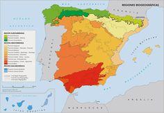 Regiones climáticas de España