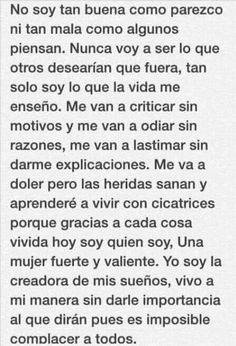 Simplemente yo♡ Sad Quotes, Words Quotes, Love Quotes, Sayings, Motivational Phrases, Inspirational Quotes, Quotes En Espanol, Sad Love, Spanish Quotes