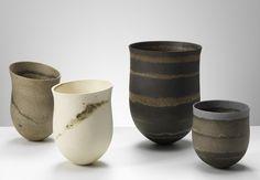 """Jennifer Lee- """"New work"""" Frank Lloyd Gallery, 2012 Ceramic Pots, Ceramic Pottery, Pottery Art, Jennifer Lee, Contemporary Ceramics, Modern Ceramics, Contemporary Art, Wabi Sabi, Clay Design"""