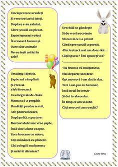 Probleme în versuri -Probleme 6 Flower Crafts, My Boys, Poems, Therapy, Classroom, Teaching, Education, Kids, 1 Decembrie