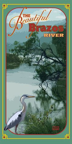Poster of The beautiful Brazos River Glen Rose Texas, United States Geological Survey, Miss Texas, Only In Texas, Moving To Texas, Texas Pride, Lone Star State, Texas History, Beautiful Park