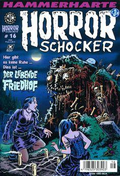 Cover for Horrorschocker (Weissblech Comics, 2004 series) #16 APRIL 2008