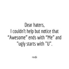 Rude, Sarcastic, Funny Quotes, Thoughts and Sayings Funny Self Love Quotes, Ugly Quotes, Bitchyness Quotes, Psycho Quotes, Ironic Quotes, Fact Quotes, Mood Quotes, Rude People Quotes, Rude Quotes