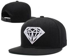 Classic Style Men Women Snapback Hats Adjustable Length Diamond