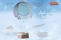 Adventsballon von shesmile (Nähanleitung und Schnittmuster)