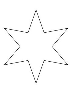 5 point star template craft pattern 5 pointed star pattern six pointed star pattern use the printable outline for crafts creating stencils scrapbooking and more free pdf template to download and print at maxwellsz