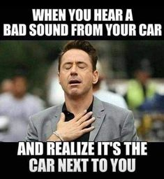Humor and sarcasm are something a person really needs in order to live life smoothly. We are showing you 26 sarcastic humor images. Car Jokes, Funny Car Memes, Funny Quotes, Car Humor, Truck Quotes, It's Funny, Stupid Funny, Vw Golf R, Laugh A Lot