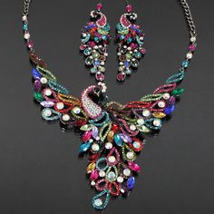 Peacock Jewelry....just the necklace, though :)