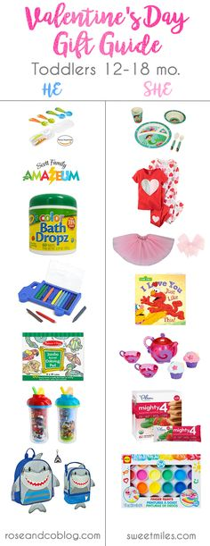 valentines day gift ideas for toddlers, toddler gifts, valentines day