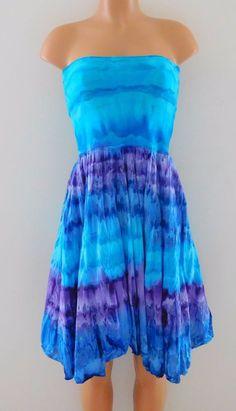 de75852291 Attention Size M Medium Purple & White Tie Dye Knit Midi Dress Swim Cover Up    eBay