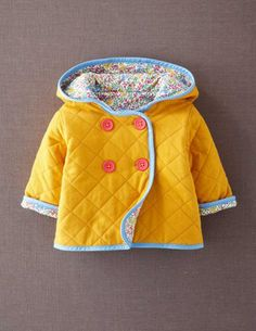 Quilted Jersey Jacket (adorable!)