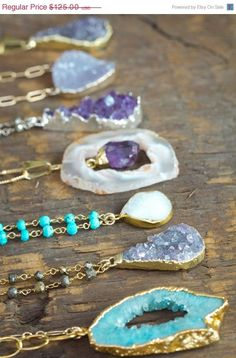ON SALE Bezel set Blue Agate Gemstone Necklace / Bohemian Jewelry / Layering Necklace / Gemstone Necklace on Etsy, $124.56 AUD