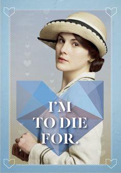yenniper: Downton Abbey Valentines