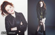 Georgie Henley's oufit at her photoshoot with Alisa Connan.