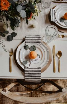Thanksgiving Tablescapes and Traditions - House On Longwood Lane