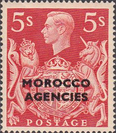 Morocco Agencies British Currency 1949 King George VI SG 92 Fine Mint SG 92 Scott 261  Other Commonwealth Stamps Here
