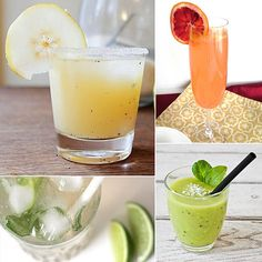 seven healthy cocktails for your next shindig.