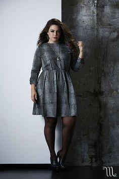 Coleção Inverno 2015 Melinde. Fotos com a modelo Fluvia Lacerda. Roupas Plus Size elegantes e modernas. loja.melinde.com.br/