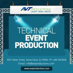 Avt Productions consistently design, create and produce engaging events which deliver our clients objectives on time and on budget.