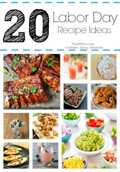 20 Labor Day Recipe Ideas: These look yummy!!