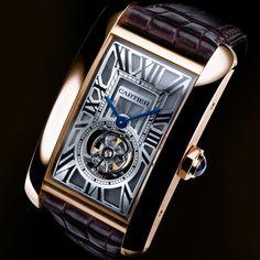 Cartier Luxury Watches #cartierwatches #cartiertank #majordor