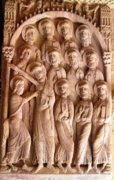 Más clases de arte: El claustro del monasterio de Santo Domingo de Silos (Burgos)