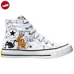 Converse All Star Chucks UE 37 UK 45 Bart Homer Simpsons Black Limited Edition