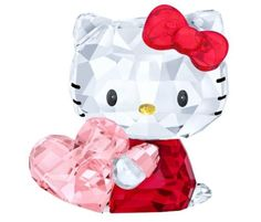 Swarovski hello kitty pink #heart, gift for lover #crystal #authentic mib 5135886, View more on the LINK: http://www.zeppy.io/product/gb/2/151967584536/